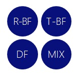 R-BF T-BF DF MIX