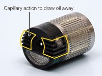 Drain oil, save time