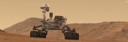 XRD technology was used on the Mars Rover